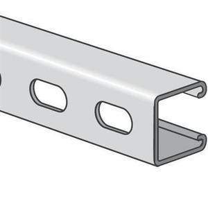 nVent Caddy A12H1000S6 12 Gauge, Stainless Steel Channel