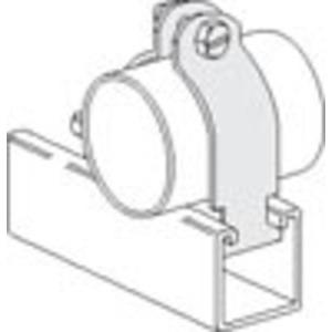 "PHD Manufacturing S2004AEG Strut IP Pipe Clamp, 1"", Steel, Electro-Galvanized"