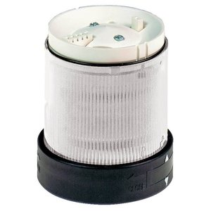 Square D XVBC37 Indicating Bank Lens Unit, Type: XVB, 250V, Steady Light, Clear