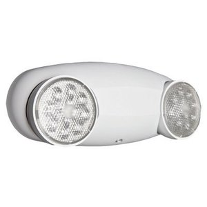 Lithonia Lighting ELM2LEDM12 Emergency Light, LED, 2 Head