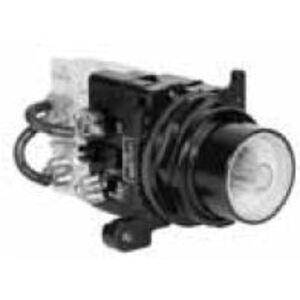 Eaton E34CB24 30mm Pushbutton, Flush, No Lens
