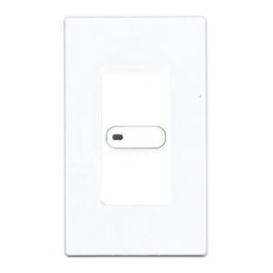 Hubbell - Building Automation NXSW-1-WH Smart Switch, 1 Toggle Button, 24 VDC, White