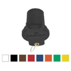 Leviton 16P21-UB 16 Series Male Protective Cap, Blue