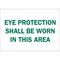 25589 EYE PROTECTION SIGN