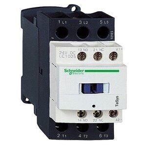 Square D LC1D25L7 CONTACTOR 600VAC 25AMP