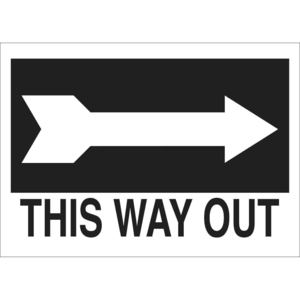 22475 DIRECTIONAL & EXIT SIGN
