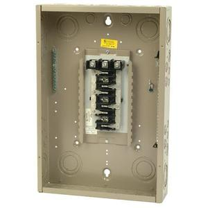 Eaton CH24L3125C Load Center, Main Lug, 125A, 120/208/240V, 3PH, 24/24, NEMA 1