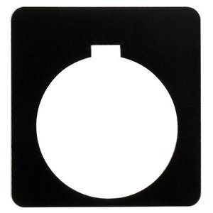 9001KN200BP PUSHBUTTON LEGEND PLATE - PL