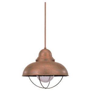 Sea Gull 6658-44 1l Pendant Weathered Copper