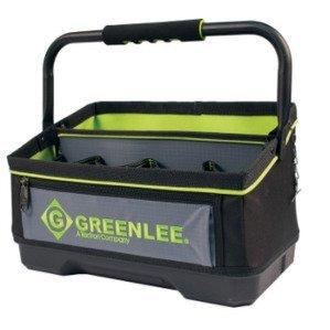 "Greenlee 0158-25 Heavy Duty Open Tool Tote Bag, 16"""