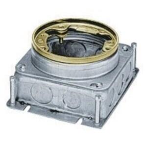 B2529 FLOOR BOX CIRCULAR STEEL