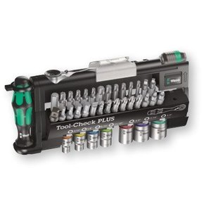 Wera Tools 05056491001 Tool-Check PLUS Imperial, 39 pieces