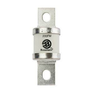 Eaton/Bussmann Series 200FM 200 Amp British Standard BS88 Fuse, Size FM, 690Vac/500Vdc