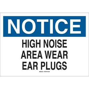 25493 EAR PROTECTION SIGN
