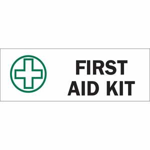 22671 FIRST AID SIGN