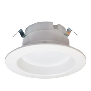 "Halco DL4FR10/940/ECO/LED2 LED Downlight, 4"", 10 Watt, 650 Lumen, 4000K, 120V"