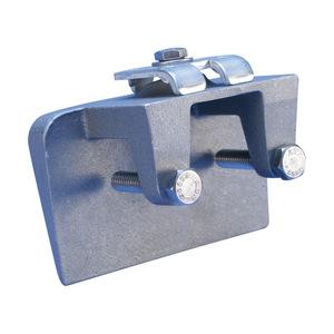 nVent Erico LPA557 CLAMP,AL,CAST,BONDING,   UNIV CABLE TO BEAM FLANGE