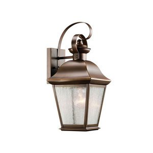 Kichler 9708OZ Lantern, Outdoor, 1 Light, 150W, Olde Bronze