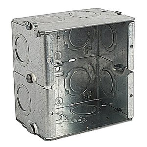 Steel City GW-225-G 2-1/2D 2G MASON BOX