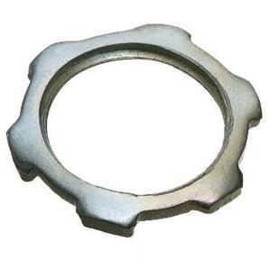 """American Fittings Corp LN250 Conduit Locknut, 2-1/2"""", Steel"""