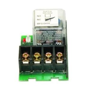 Lighting Control & Design LCDACC-SLDPNC Relay, 20 Amp, Double Pole, Normally Closed, 480 Volt
