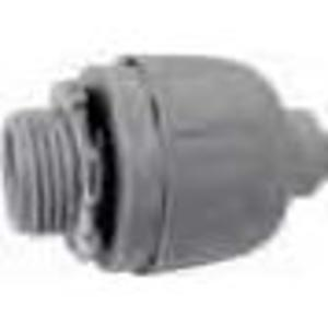 "Bizline 050LTC Liquidtight Connector, 3/8"", Straight, Non-Metallic"