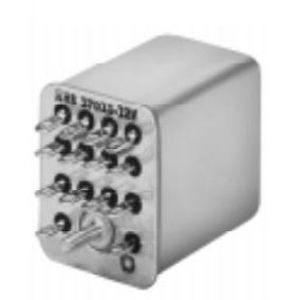 Tyco Electronics KHS-17D11-24 Relay, Ice Cube, 5A, 14-Blade, Hermetically Sealed, 4P, 24VDC