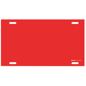 4012-F 4012-F BLANK RED STYLE F