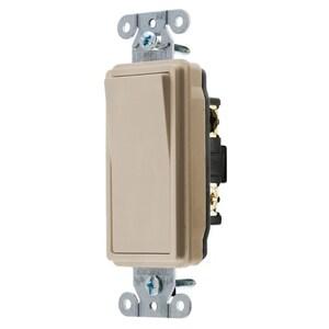 Hubbell-Wiring Kellems DS315AL SWITCH, DECO SER, 3W,
