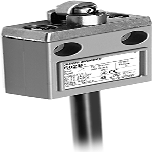 Allen-Bradley 802B-CSDDXSLD4 Limit Switch, Compact, Top Push Roller, Side Mount, Low Voltage