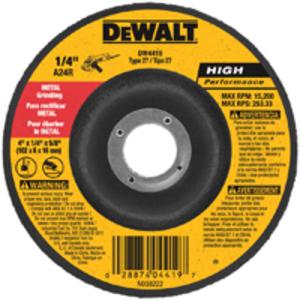 "DEWALT DW8424 4-1/2"" Grinding Wheel"