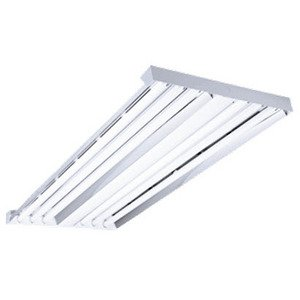 Hubbell-Columbia Lighting LHV4-432-M4RST-4EHLU High Bay Fixture, 4', 4-Lamp, T8, 32W, 120-277V