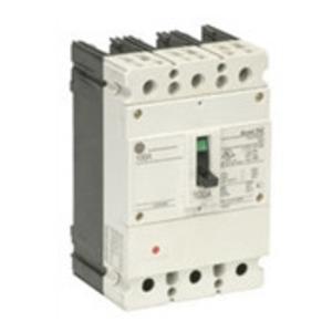 GE Industrial FBN36TE015RV Breaker, Molded Case, 15A, 3P, 600/347VAC, 65kAIC, Record Plus