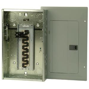 Eaton BR2020B100 Load Center, Main Breaker, 100A, 120/240V, 1PH, 20/20, NEMA 1