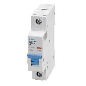 E-T-A Circuit Breakers 4230-T130-K0BE-10A Breaker, Din Rail Mount, 10A, 3P, 400VAC