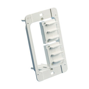 "nVent Caddy MP1P Mounting Bracket, 1-Gang, Fits 1/4 to 1-1/4"" Drywall, Non-Metallic"