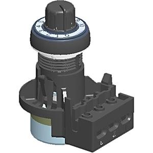 Allen-Bradley 800FP-POT6 Potentiometer, 10000 Ohms, Series B, Single Turn, 22.5mm