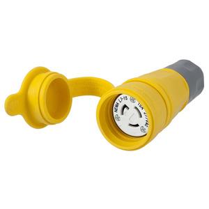 Hubbell-Wiring Kellems HBL25W34 CONN W/TIGHT L7-15R 15A 277VAC