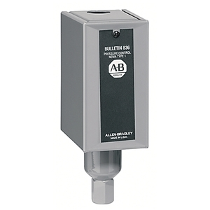 Allen-Bradley 836-C7A Pressure Switch, Type 1 Enclosure, 4-150 PSI, Adjustable Range
