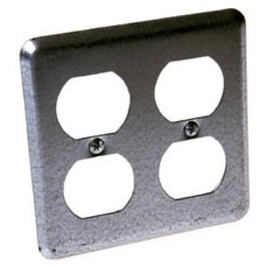 Hubbell-Raco 873 2-gang Handy Box Cover - Duplex / Duplex