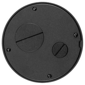 Hubbell-Kellems S1SPFFTBL SUBPLATE TILE FURN FEED SYS 1 BLK