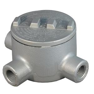 """Appleton GRT75M Conduit Outlet Box, 3/4"""", Aluminum"""