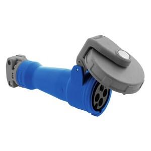 Hubbell-Wiring Kellems HBL420C9W PS,IEC,CONN,3P4W, 16/20A 200-250V,4X/69K
