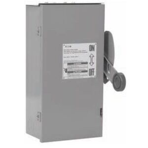 Eaton DT327FRK Safety Switch, Double Throw, Heavy Duty, 800A, 240VAC, NEMA 3R