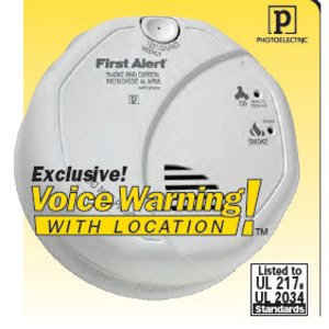 BRK-First Alert SC7010BV Smoke & Carbon Monoxide Alarm, 120V, (2) AA Battery Backup