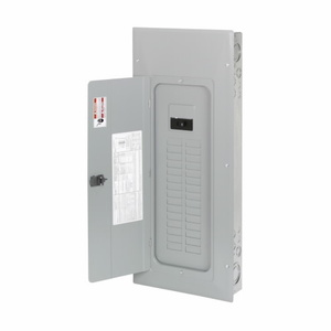 Eaton BR3030B100 Load Center, Main Breaker, 100A, 120/240V, 1PH, 30/30, NEMA 1