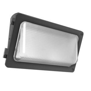RAB W34-55L LED Wallpack, 55 Watt, 5400 Lumen, 5000K, 120-277V