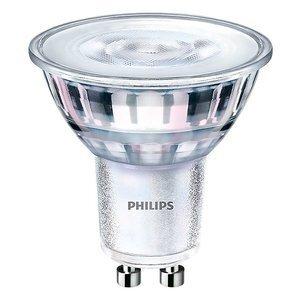 Philips Lighting 4.5GU10/LED/F35/830/DIM-10/1 LED Lamp, 4.5 Watt, 120V, Bulb: MR16,GU10