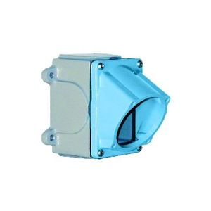 Meltric 61-3A053-080-34 Angled Box, for 30A Device, Metal