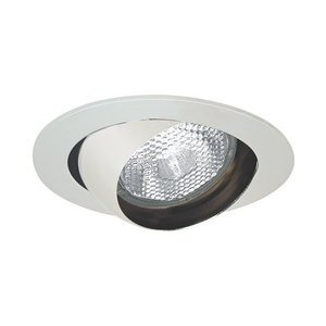 "Elite Lighting B403WH Eyeball Trim, 4"", White"